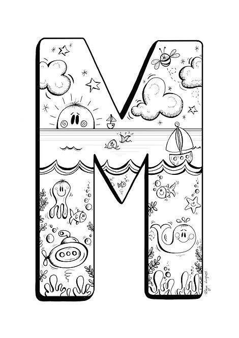 'The Letter M' - Digital Download