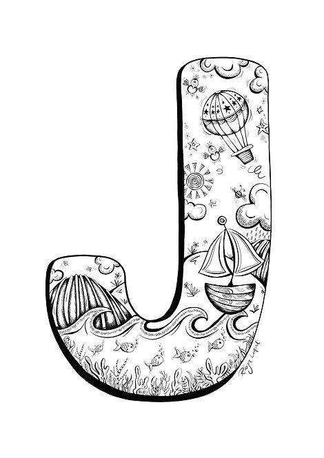 'The Letter J' - Digital Download