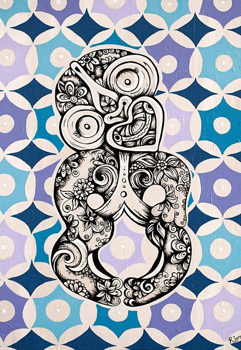 Retro Tiki A3 Digital Art File