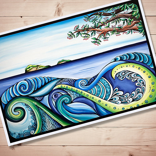 Tangaroa Art Print