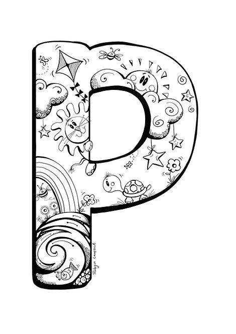 'The Letter P' - Digital Download