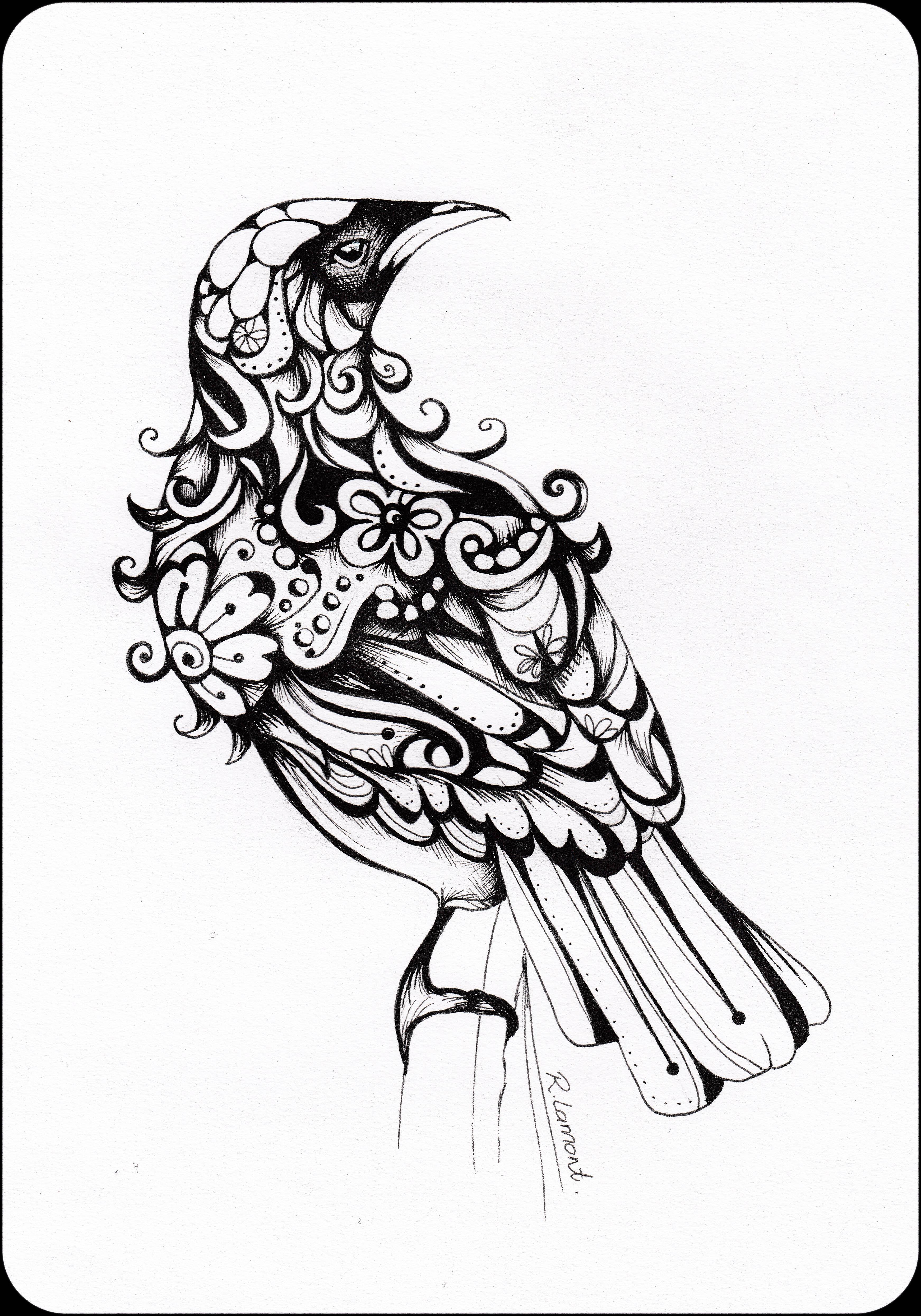 Inked Tui