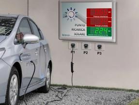 Nuovi display per ricarica mezzi elettrici