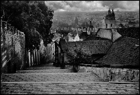 Novozámecké schody, Praha, 2005