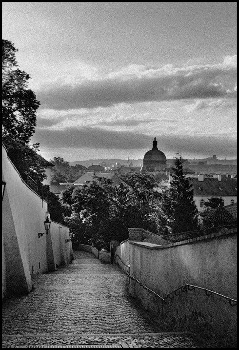 Staré zámecké schody, Praha, 2005