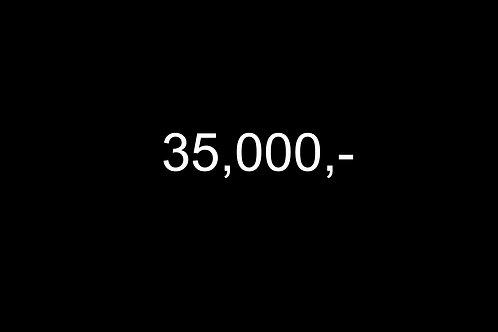 Dárkový poukaz 35,000,-
