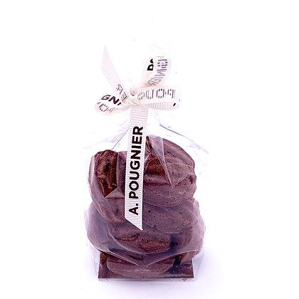 Madeleine chocolat poids net 100g