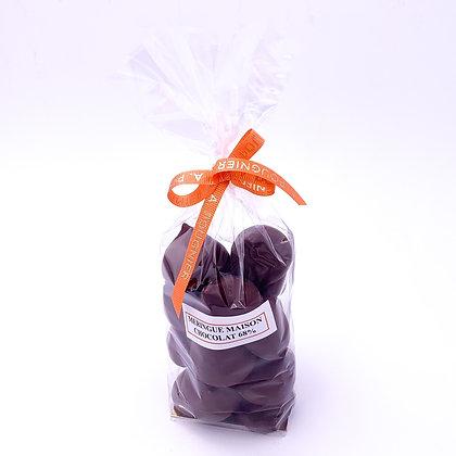 Meringues au chocolat poids net 150g