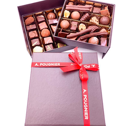 Coffret de chocolat poids net 450g