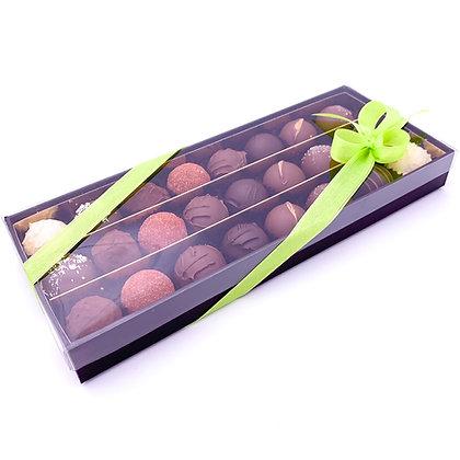 Boîte de 24 truffes poids net 300g