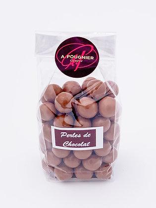 Perles de chocolat poids net 100g