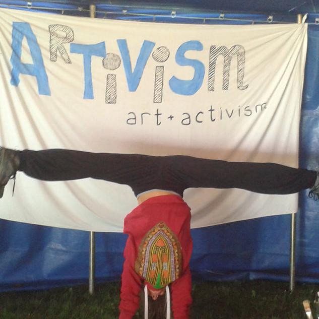 Artivism start
