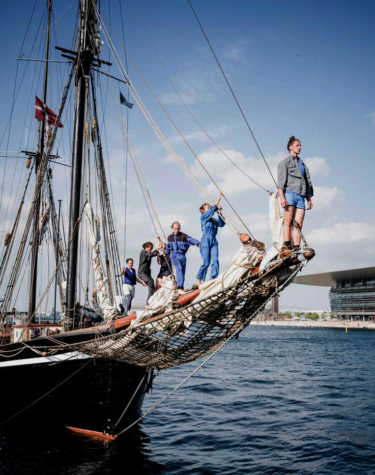 Bowsprit climb from Into the Water