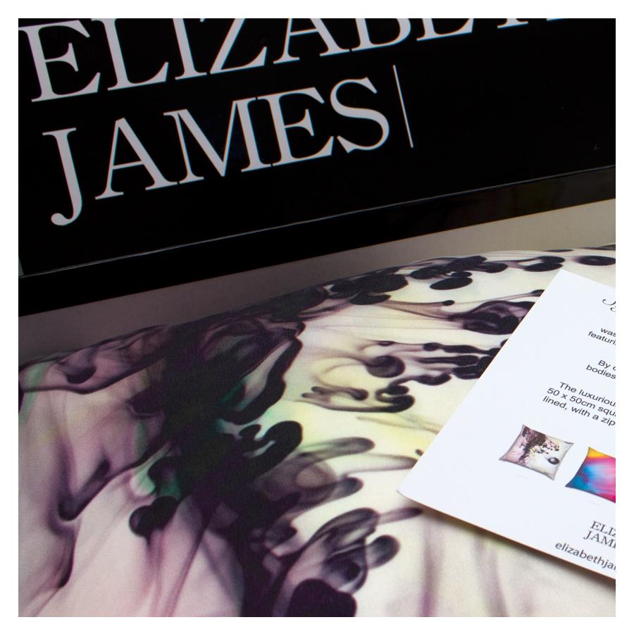Luxury Silk Cushion Elizabeth James