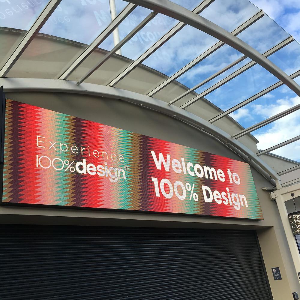 Elizabeth James - 100% Design 2016