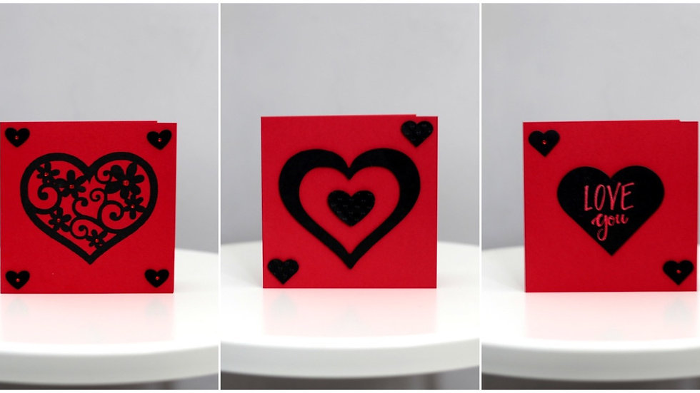 Square Love Cards