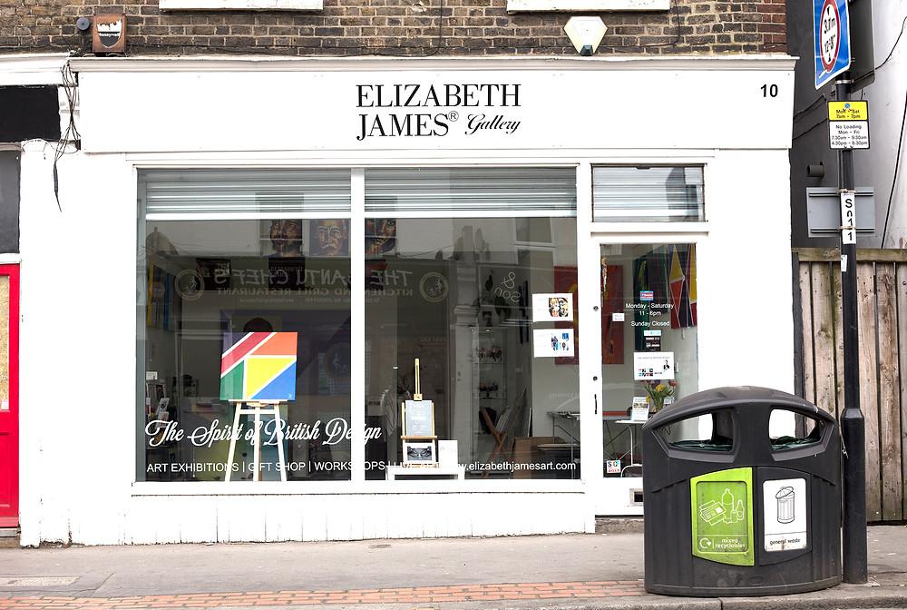 Elizabeth James Gallery London SE25