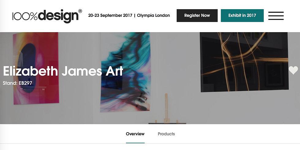 Elizabeth James Art | 100% Design Olympia