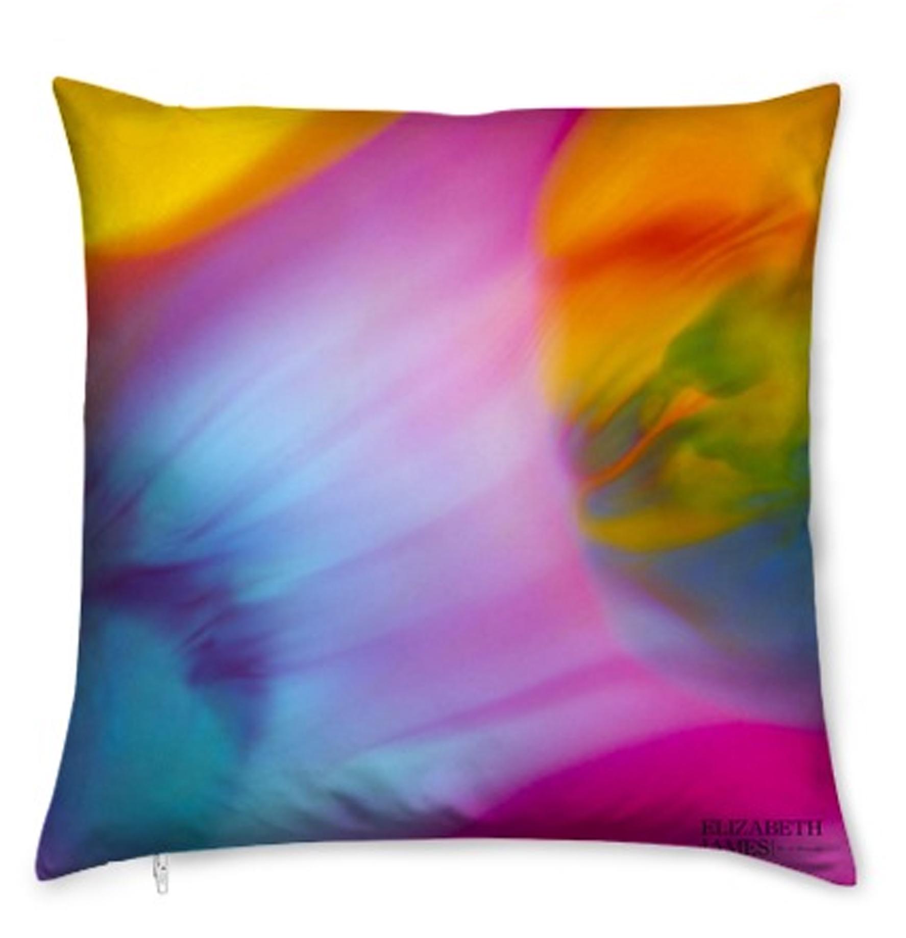 World  Luxury Silk Cushion