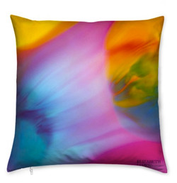 World  Luxury Silk Cushion