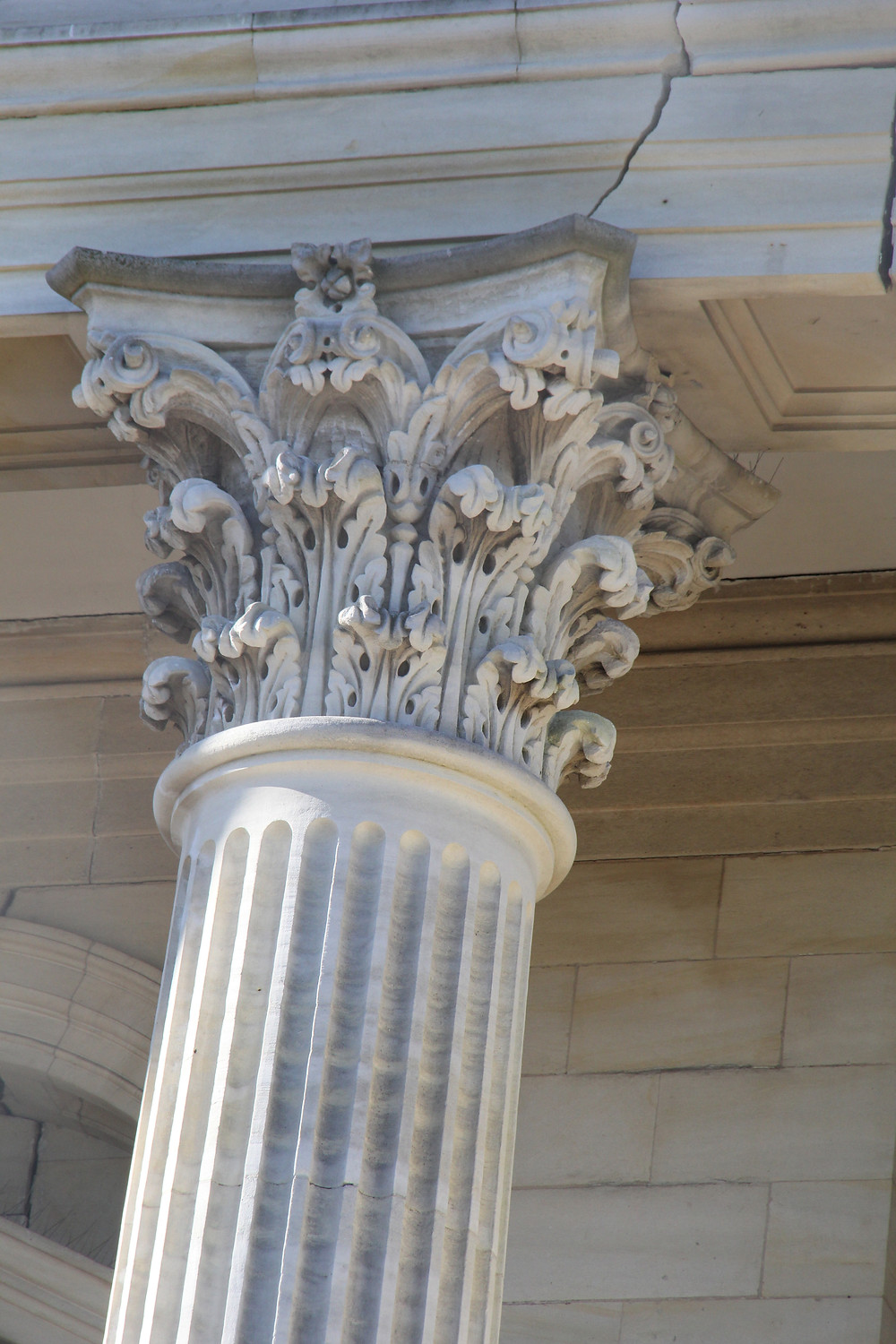 Close- up of Pillar
