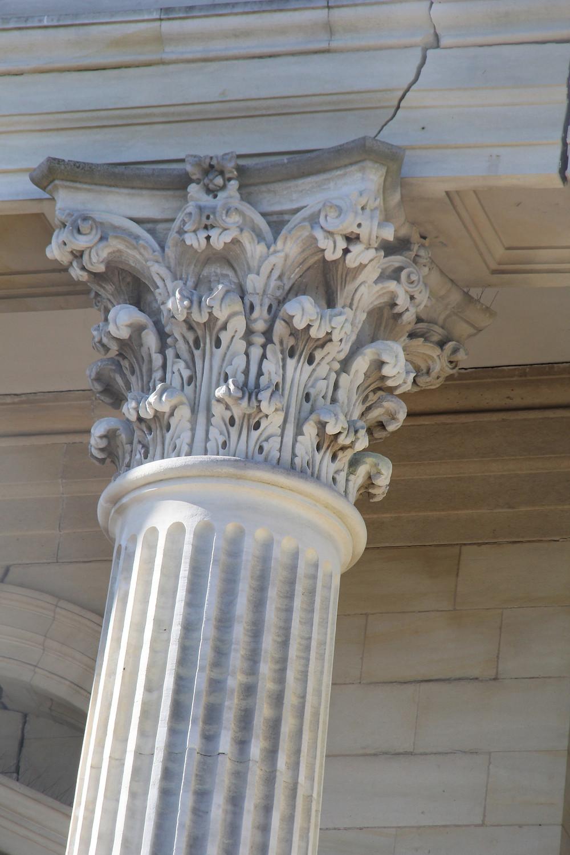 Close- up of Pillar