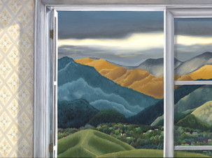 24 Rai Valley though window