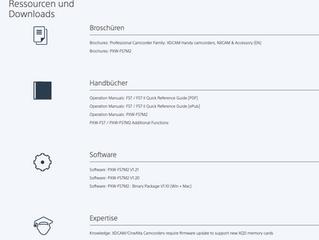 """Firmware """"ISO Einbrennen"""" für CineMode (EI)"""
