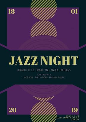 18th of Jan 2019: Jazz night at Owen's Cafe