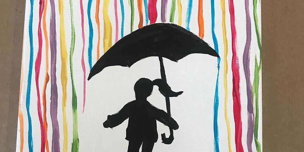 Spring Break Art Camp - Rainbow Splash