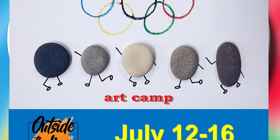 Olympics Art Camp
