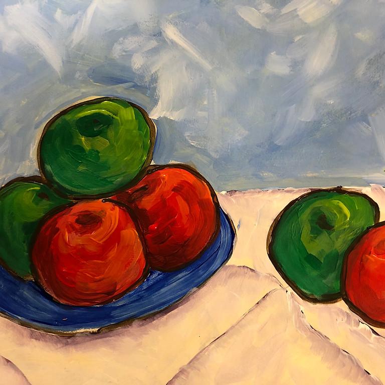 Cezanne-style Apples