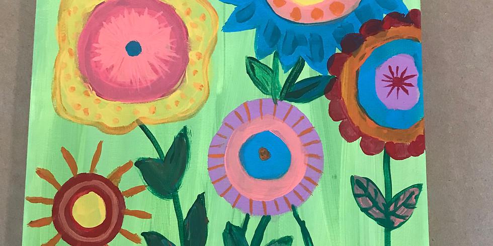 Spring Break Art Camp - Spring Garden