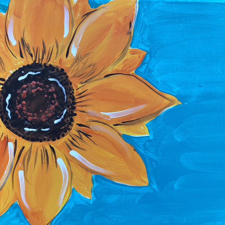 Summer Sunflower Paint Party
