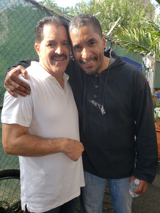 MANNY AND LEGEND TIMBALERO JOSE CLAUSELL