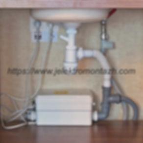 канализационая насосная станция под мойкой