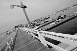 """[254]   """"B&W Pier"""""""