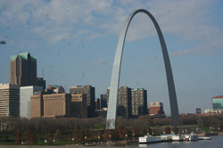 Snapshot of St. Louis Arch