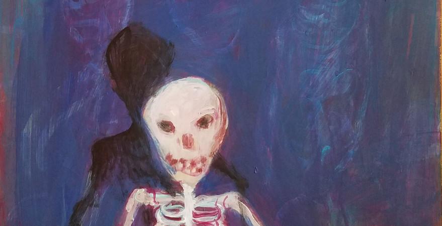 Little Skeleton Waiting.jpg