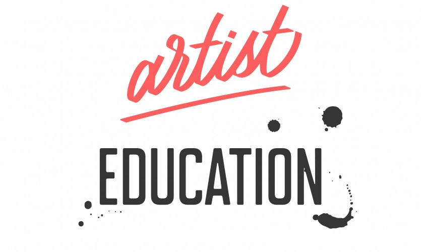 Upcoming Artist Education Workshops April 24, May 8 and May 26