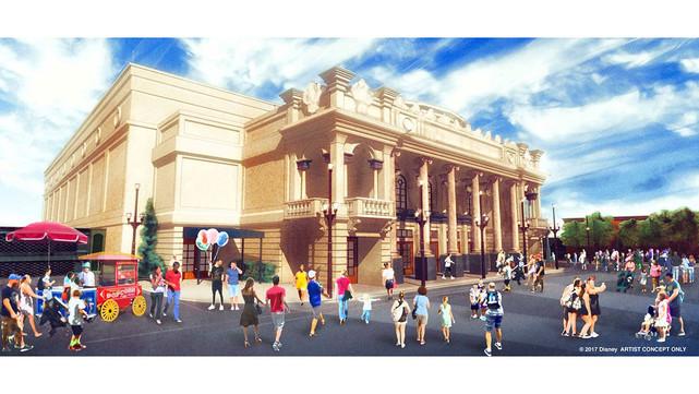 Disney canceled the New Main Street Cinema.