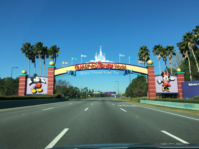 Who am I and when are we going to Walt Disney World .