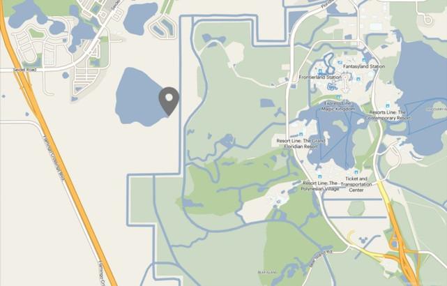 Disney buys more land west of the Magic Kingdom theme park. 26.3 acres.