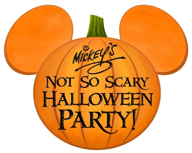 Disney not so scary Halloween party.