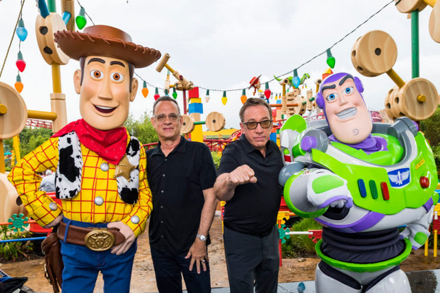 Stars of Toy Story 4 at Disney's Hollywood Studios !