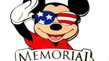 HAPPY MEMORIAL DAY! LAST YEAR I WAS IN DISNEY.