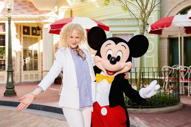 Celebrity's at the Most Magical Place in the World.