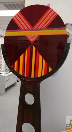 Glass Round - W. Hutchison