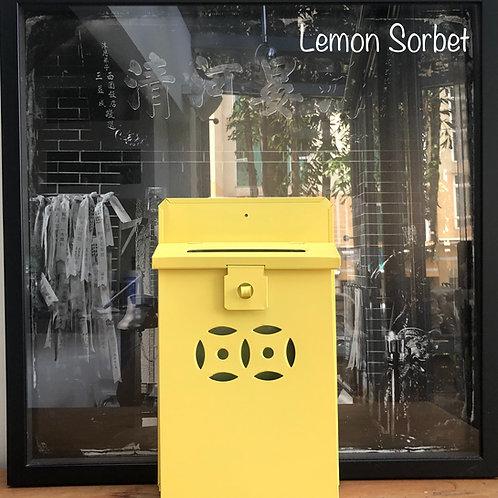 Lemon Sorbet letterbox