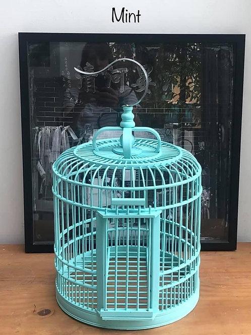 Mint birdcage
